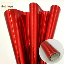 Solid Color Mirror PU Leather Fabric For Sewing Bag DIY Material  A4/A5/Roll