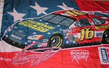 Greg Biffle Nascar # 16 Flag National Guard Roush Racing 3' X 5' Metal Grommets