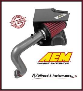 AEM Cold Air Intake System 11-16 Jeep Compass & Patriot 2.4L L4 Gunmetal Gray