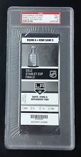 LOS ANGELES KINGS 2012 STANLEY CUP CLINCHING GAME 6 TICKET STUB PSA MINT 9