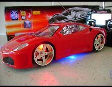 FERRARI Spider voiture de contrôle à distance feux clignotant dans 3 couleurs uk vendeur