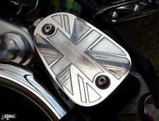 BILLET Triumph Bonneville Master Cylinder Disc Brake Cap/Lid/Cover T100 America