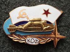 RUSSIAN SOVIET CCCP    SPETSNAZ  DIVER  BADGE PIN.