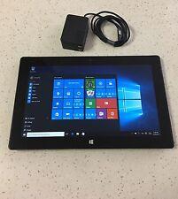 "Microsoft Surface PRO 2 i5-4300U 128GB 4GB RAM 1.90GHz Wi-Fi 10.6"" WINS 10 Pro"