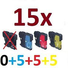 15x tinte für MFC355CW MFC790CW MFC795CW MFC6890CDW ersetzt BROTHER LC980 LC1100