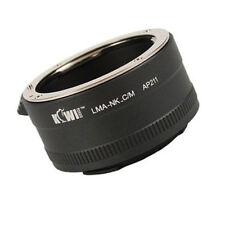 Adattatore obiettivo si adatta a obiettivo Nikon a Canon EOS M porta EF-M baionetta