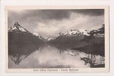O-640 Chile Seno Ultima Esperanza - Fiordo Bellavista Postcard