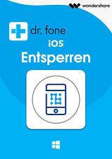 Dr.Fone iOS -Entsperren WIN- deutsche Lifetime Vollvers.Download