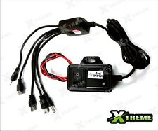 Xtremz 5 in 1 Multi Pin Mobile Charger For All Motor Bikes / Scooters (Black)