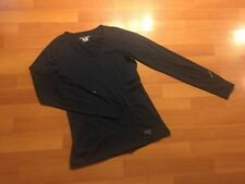 Arcteryx Womens Athletic Top Shirt Navy Blue Size Small S Long Sleeve Hiking