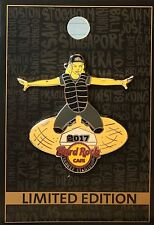 HRC Hard Rock Cafe NY Yankee Stadium Baseball Umpire Girl 2017 Pin New LE 94198