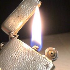 Briquet ancien FLAMIDOR PARIS Argent Solid Silver ? Lighter Feuerzeug Accendino