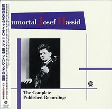JOSEF HASSID-IMMORTAL JOSEF HASSID THE COMPLETE PUBLISHED...-JAPAN LP Ltd/Ed P80