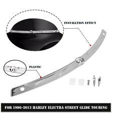 Fairing Windscreen Windshield Trim For Harley Touring Street FLHT FLHX 1996-2013