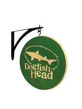 Dogfish Head Craft Brewed Ales Double Sided Pub Sign