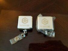 Nintendo Gamecube Promo Clip Retractable Reel Lanyard Badge Holder Rare