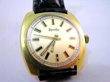 ZentRa Herren Armbanduhr DuRoWe Kal. 7420 Handaufzugwerk 21600 um 1960