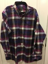 Joseph A Bank Travelers Collection Plaid Shirt Size 3 XB New