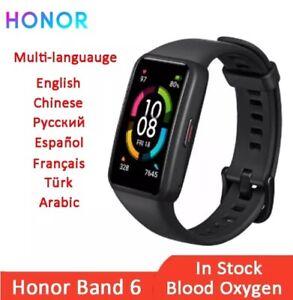 "NEW Huawei Honor Band 6 Smart Wristband Full Screen 1.47"" AMOLED Smartwatch"