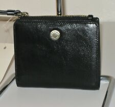 Radley London Black Leather Small Clifton Wallet $88