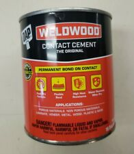 NEW DAP WELDWOOD 00271 PINT ORIGINAL BRUSH CONTACT CEMENT GLUE ADHESIVE ,1-Pint