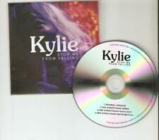 KYLIE 'STOP ME FROM FALLING'' 4 REMIX ARGENTIAN CD PROMO