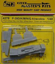 CMK 1/48 P-39D/K/M/N/Q Airacobra Front Wheel Bay & Main Wheel Bay Hasegawa #4278
