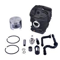 49MM Zylinderset Zündkerze Benzinfilter für STIHL MS290 039 MS390 MS310 029