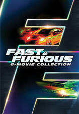 Fast and the Furious 6 Movie Collection DVD Complete Set Edition 1 2 3 4 5 6