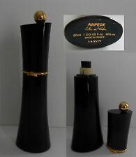 ANCIEN  TRES RARE flacon  parfum  LANVIN  ARPEGE  (50 ml  vide )