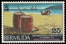 "BERMUDA 332 (SG338) - American Revolution ""Gunpowder Plot"" (pa86788)"
