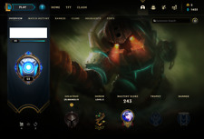 League of Legends Account | LOL |North America | Bronze IV | 102 Champ 103 skins