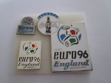 b2 lotto 3 spille ENGLAND 1996 UEFA european championship football pins lot 96