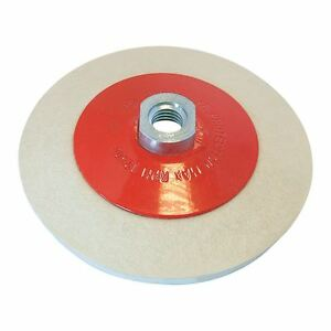 Angle Grinder Bevelled Felt Polishing Buffing Wheel 115mm Pro-Max