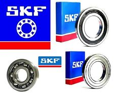 6000 SERIES GENUINE SKF DEEP GROOVE BALL BEARING - 2RS ZZ OPEN C3 CHOOSE SIZE