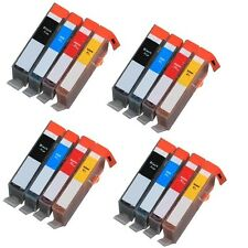 16 PK Ink Cartridges + chip for use on HP 564XL Photosmart 5510 5515 5512 5514