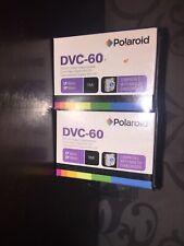 Polaroid DVC-60 Mini Dv Digital Videocassette 2-Pack