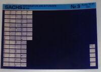 Microfiche Repair Manuals Sachs 80 Sa Stand 12/81