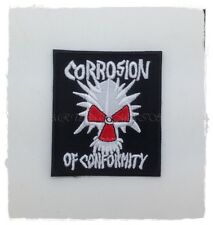 Corrosion of Conformity Sew On Patch Iron Embroidered Rock Band Heavy Metal Logo