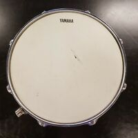 "Used Yamaha 13""X 4"" Chrome Snare Drum 8 lug Free Shipping"