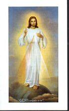 293 Gesù confido in te Santino   Holycard