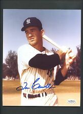 Tom Carroll Yankees Signed Photo JSA Sticker Only AUTO Autograph