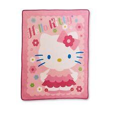 Hello Kitty PLUSH soft blanket throw design NEW microfiber super SOFT