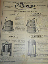 catalogue pulvérisateur non Vermorel ( ref 5 )