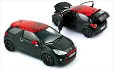 Norev 2013 Citroen DS3 LEOB Racing Black RED TOP 1/18 Diecast Car Model 181543