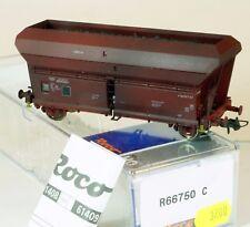 Introuvable Roco H0 Wagon trémie à essieux patiné SNCB NMBS R 66750 C NEUF BO