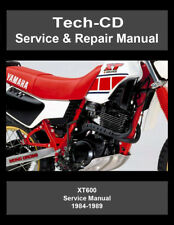 Yamaha XT600 Service & Repair Manual XT 600 1984 1985 1986 1987 1988 1989