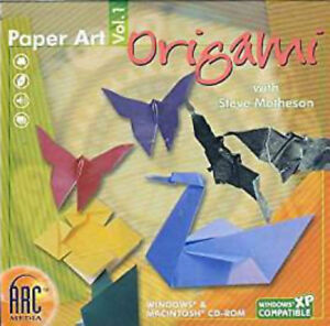 Paper Art Origami Vol. 1 PC MAC Windows CD ROM ~ NEW ~ Japanese Craft Matheson