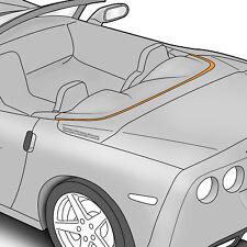 2005-2013 C6 Corvette Deck Lid Protective Film Cover - Clear 619053