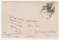 STORIA POSTALE 1912 REGNO LIBIA-POSTA MILITARE ARRIVO REGGIMENTO FANTERIA D/6211
